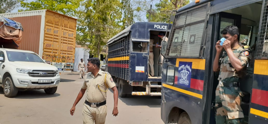 Police have been deployed at Gadchinchale village since the lynching | By special arrangement