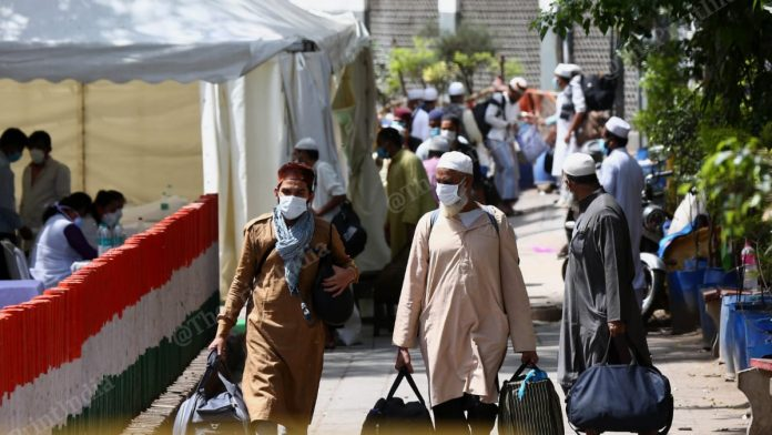 As many as 300 foreigners from 16 countries had attended the Tablighi Jamaat event in Delhi in March (representational image) | Photo : Suraj Singh Bisht | ThePrint