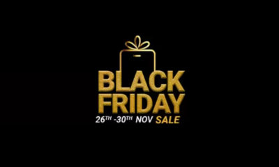 A tempting offer on smartphones, Flipkart has launched the Black Friday Sale