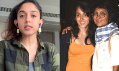 Aamir Khan's daughter Ira reveals advice she received from her 'aunt' Kiran Rao when she told her about battling depression | Bollywood Bubble