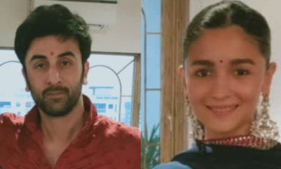 Diwali 2020: Alia Bhatt-Ranbir Kapoor stun in ethnic wear as they celebrate the festival together-view pics | Bollywood Bubble