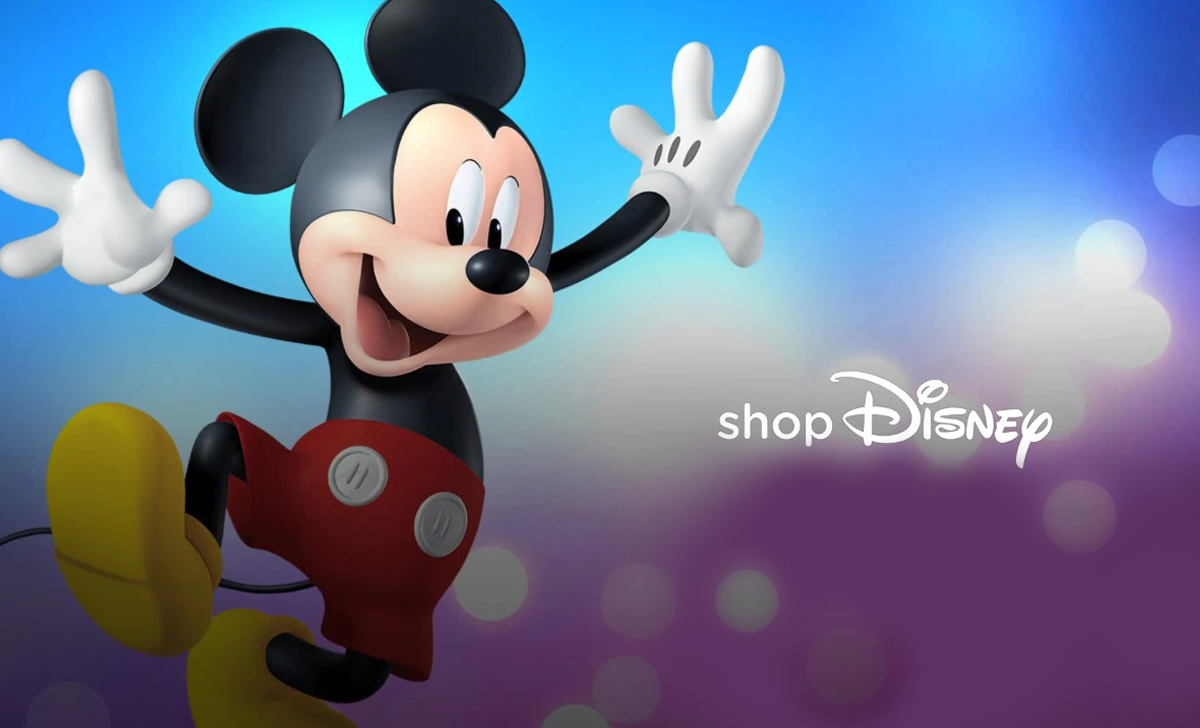Get a variety of favorite cartoon or movie products, Disney launched ShopDisney store
