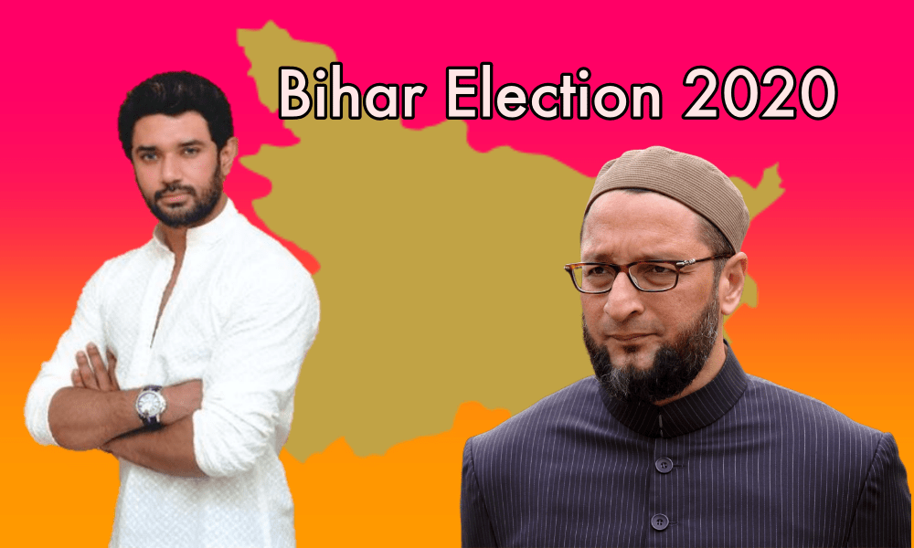 Were Chirag Paswan and Asaduddin Owaisi really 'vote katwa' in Bihar elections
