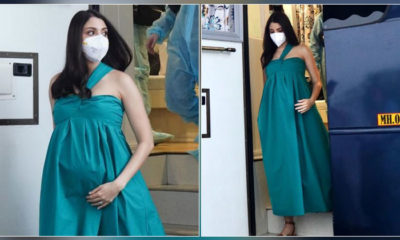Mom-to-be Anushka Sharma steps out in style for an ad shoot in Mumbai- view pics   Bollywood Bubble