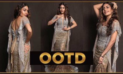 'Naagin 5' actress Surbhi Chandna stuns in a silver & gold embellished gown- view pics | Bollywood Bubble