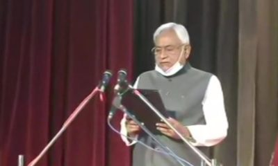 Nitish Kumar takes oath as the Chief Minister of Bihar