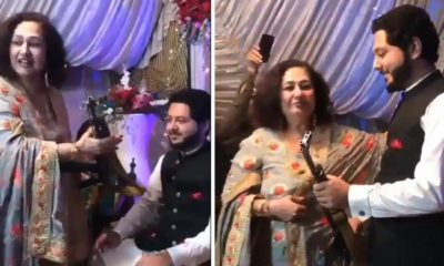 Pakistani man get AK-47 rifle as wedding gift from his mother-in-law