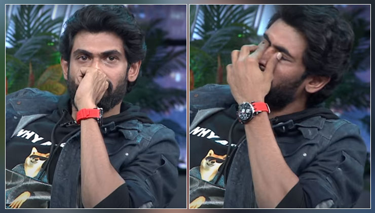 """Rana Daggubati breaks down as he opens up about his critical health issues; says, """"I had 30% chance of death""""- watch   Bollywood Bubble"""