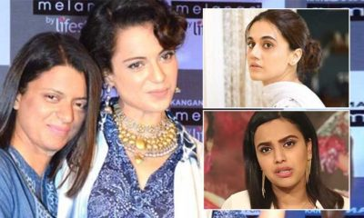 Rangoli Chandel lashes out at Taapsee Pannu & Swara Bhasker; accuses them of mocking Kangana Ranaut's office demolition | Bollywood Bubble