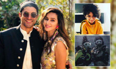 Shibani Dandekar and beau Farhan Akhtar go scuba diving; actor's daughter Akira drops an EPIC comment | Bollywood Bubble