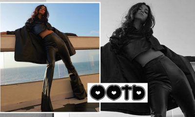 Shibani Dandekar wraps herself head to toe in a leather outfit; vibes ultimate fashion goals - view pics | Bollywood Bubble