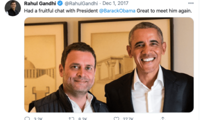 After Barack Obama's observations, Congress admits that Rahul Gandhi lacked aptitude ten years ago, but has evolved since then
