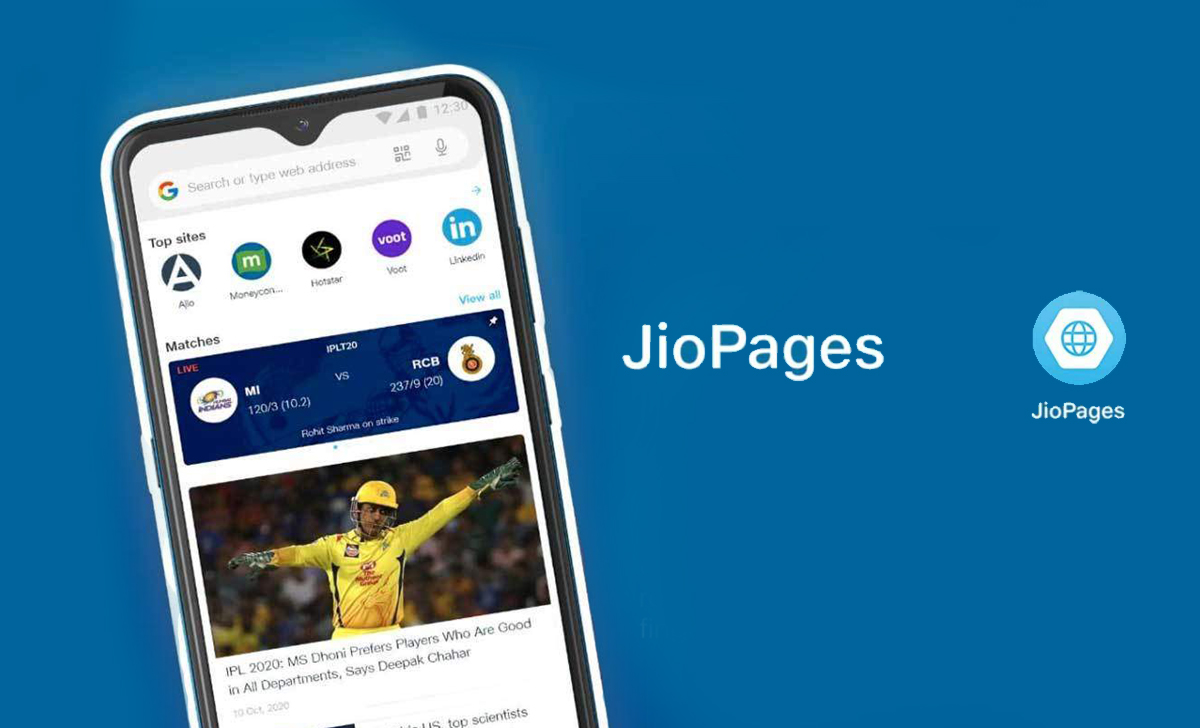 The Reliance JioPages browser adds short videos and a new secure search engine