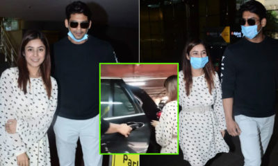 "Watch: Gentleman Sidharth Shukla opens car door for Shehnaaz Gill; paps praise Shuklaji by exclaiming, ""Kya baat hai"" 
