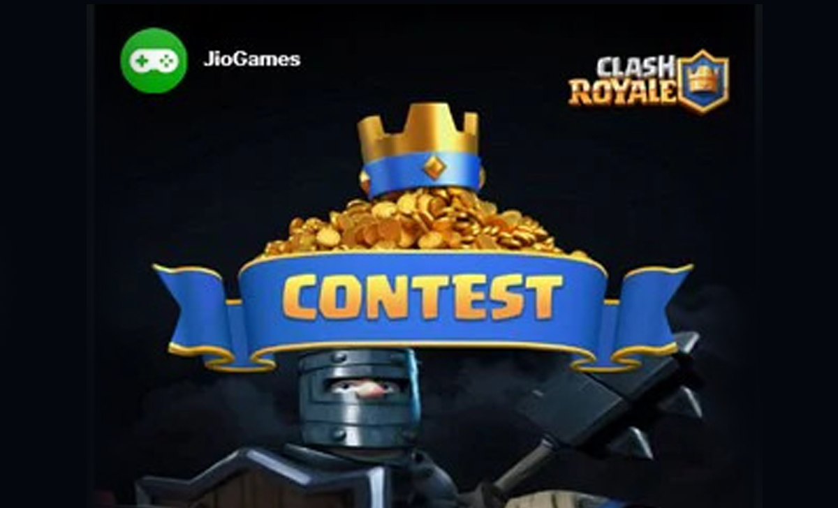 Win a prize of up to Rs 2.5 lakh, the JioGames Clash Royale tournament is starting