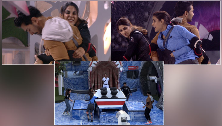 'Bigg Boss 14' Written Updates, Day 61: The Finale Week has housemates clash in a dhamakedaar boating task! | Bollywood Bubble