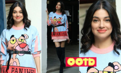 Divya Khosla Kumar channels her 'Pink Panther' vibes in a cute sweater dress- view pics | Bollywood Bubble