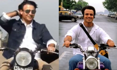18 years of Saathiya: Vivek Oberoi recreates 'O Humdum Soniyo Re' bike scene as he takes a trip down memory lane | Bollywood Bubble