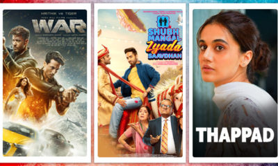2020 Wrap Up: 'War' to 'Shubh Mangal Zyada Saavdhan' - Movies that re-released in theatres after lockdown | Bollywood Bubble