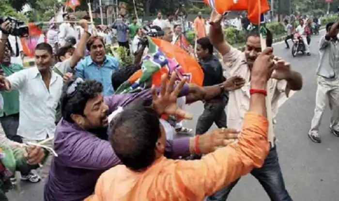 8 incidents of violence against BJP in West Bengal in December alone