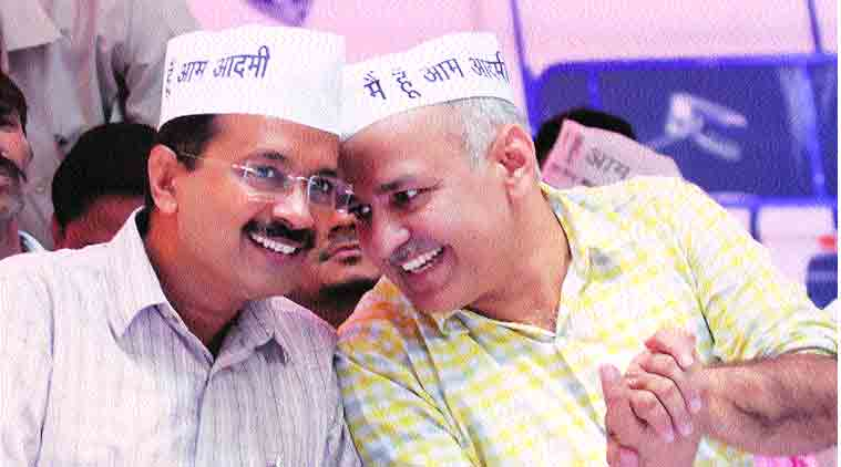 AAP dharna outside Kejriwal's house to oppose imaginary house arrest