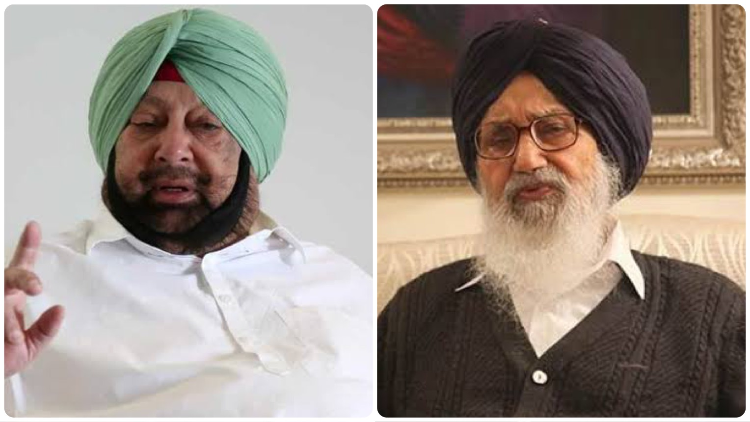 Amarinder Singh: Parkash Singh Badal returning his award 'theatrics'