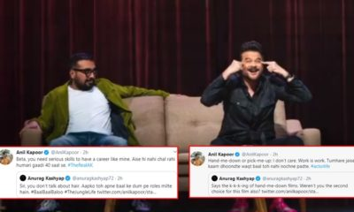 Anurag Kashyap and Anil Kapoor's witty Twitter banter leaves netizens perplexed | Bollywood Bubble