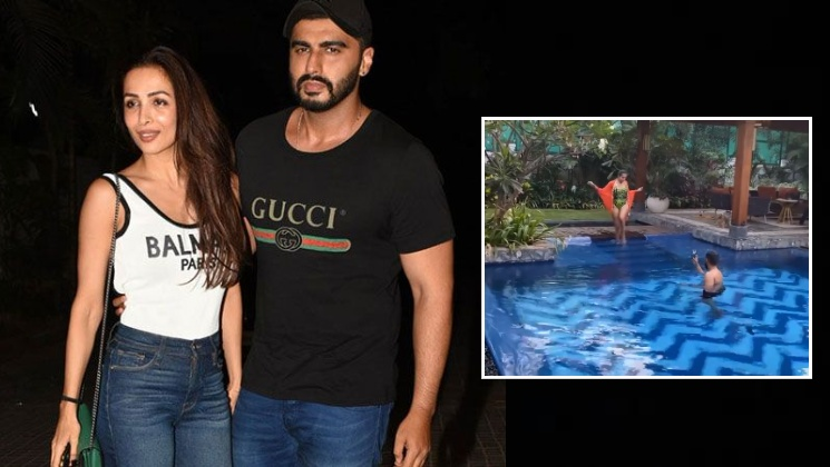 Arjun Kapoor turns photographer for lady love Malaika Arora as she flaunts her hot bod- view pic | Bollywood Bubble
