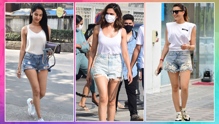 B-Town hotties, Deepika Padukone, Sonal Chauhan in identical outfits! Look who's twinning with them! | Bollywood Bubble