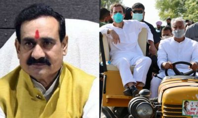 BJP leader slams Congress and Rahul Gandhi for fuelling farmer protests