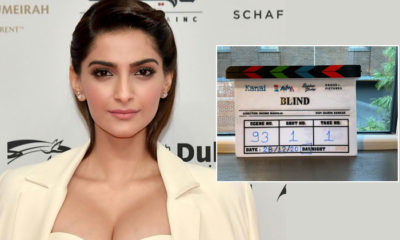 'Blind': Sonam Kapoor Ahuja's next film goes on floor in the UK | Bollywood Bubble