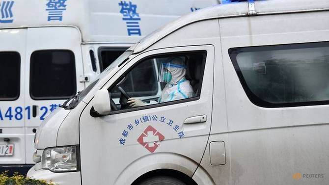 China: Covid outbreak in clusters as authorities declare 'wartime'
