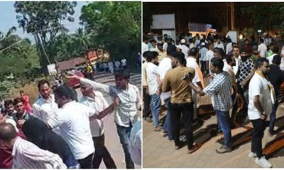 Congress-SDPI workers clash with each other in Dakshina Kannada during local body polls