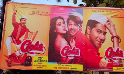 Coolie No. 1: Film Union up against piracy of Varun Dhawan and Sara Ali Khan starrer | Bollywood Bubble