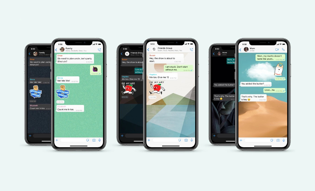 Different wallpapers for every chat, WhatsApp has added multiple new features