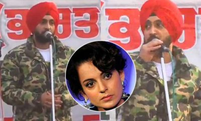 "Diljit Dosanjh takes a dig at Kangana Ranaut, says, ""Hindi main bhi bol raha hun phir badh me Google na karna pade"" 