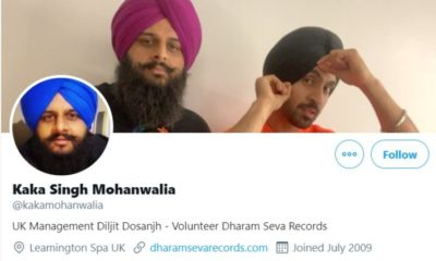 Diljit Dosanjh's UK manager linked to 9 companies opened and dissolved since 2011