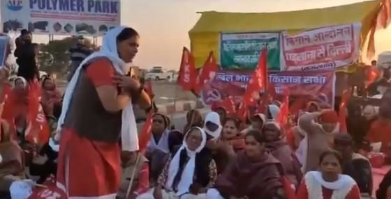 'Farmer Protests': Left front's farmer wing asks PM Modi to die
