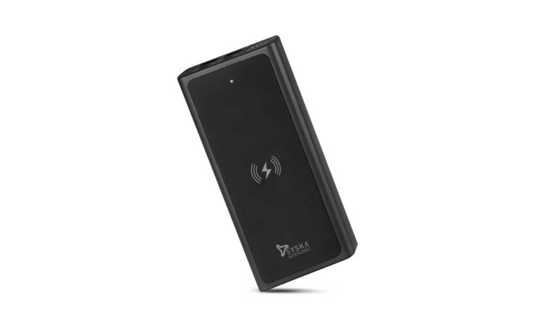 Four devices will be charged simultaneously, Syska unveils 10,000 mAh battery power bank