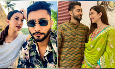 Gauahar Khan reacts to rumours of having 12 years age difference with fiancé Zaid Darbar | Bollywood Bubble