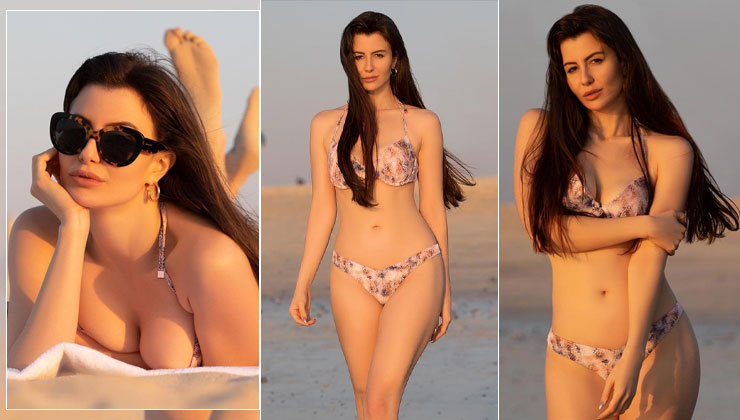 Giorgia Andriani sets Instagram on fire with her smoking hot beach bikini look | Bollywood Bubble