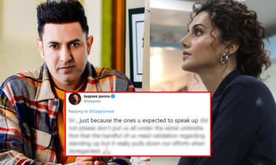 Gippy Grewal is disappointed with Bollywood for not standing up for farmers; Taapsee Pannu disagrees | Bollywood Bubble