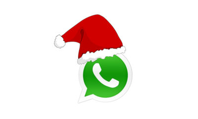 Happy Christmas at night!  How to send a Christmas sticker to a loved one on WhatsApp