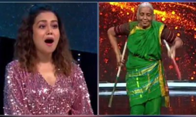 Indian Idol 12: Neha Kakkar gifts THIS whopping amount to Shantabai Pawar aka Warrior Aaji for performing lathi stunt | Bollywood Bubble
