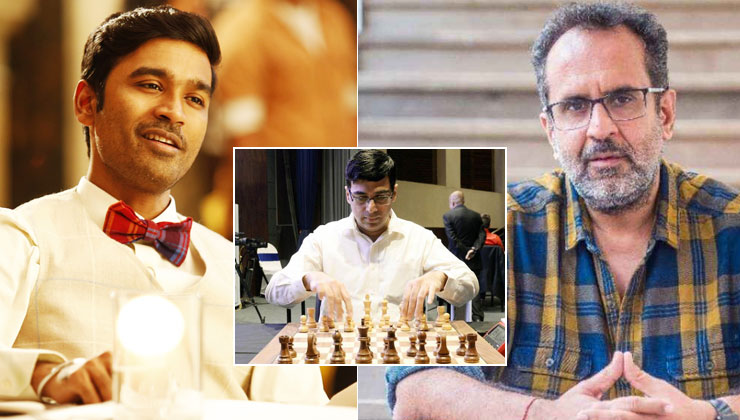 Is Dhanush playing Vishwanathan Anand in the Aanand L Rai-directed biopic of the chess grandmaster? | Bollywood Bubble