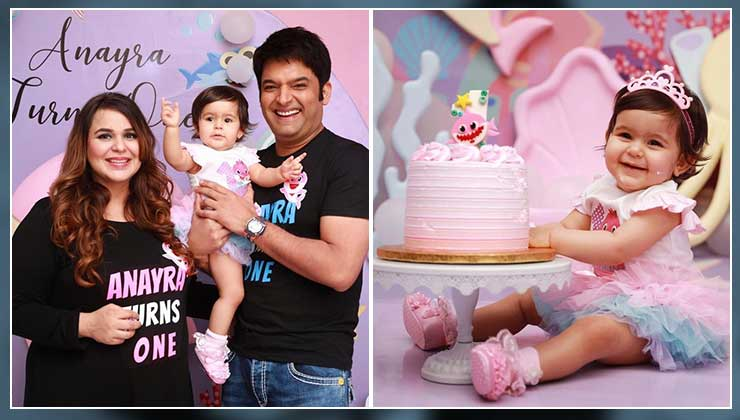 Kapil Sharma & Ginni Chatrath celebrate daughter Anayra's first birthday with an ocean-themed party-view pics | Bollywood Bubble