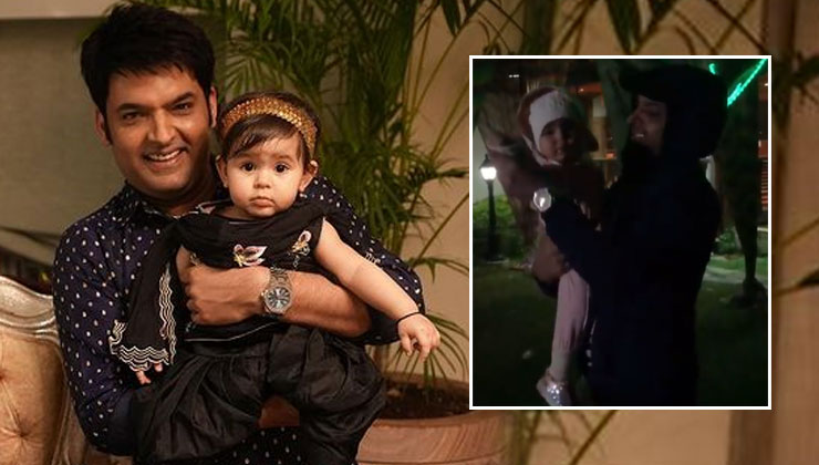 Kapil Sharma dancing with his daughter Anayra is the cutest thing you will see on the internet today-watch video | Bollywood Bubble