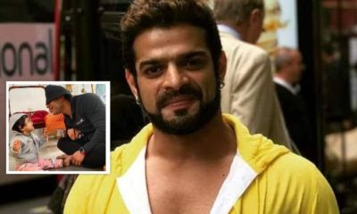 Karan Patel shares a glimpse of his daughter Mehr's face for the first time and it's too cute for words | Bollywood Bubble