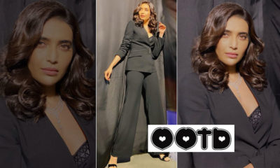 Karishma Tanna's edgy pantsuit is the right blend of business and fashion   Bollywood Bubble