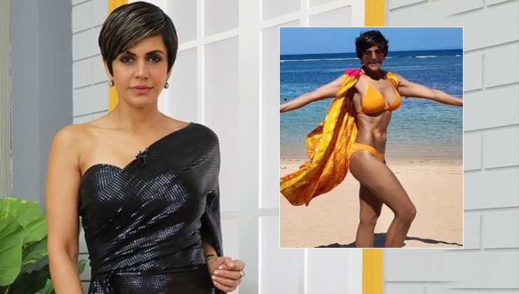 Mandira Bedi's sultry picture in yellow bikini will help you beat the Monday blues | Bollywood Bubble